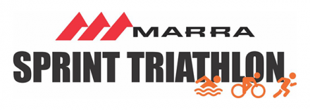 Marra sprint triathlon logo
