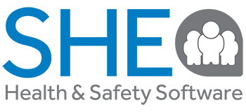 SHE Health and safety software logo